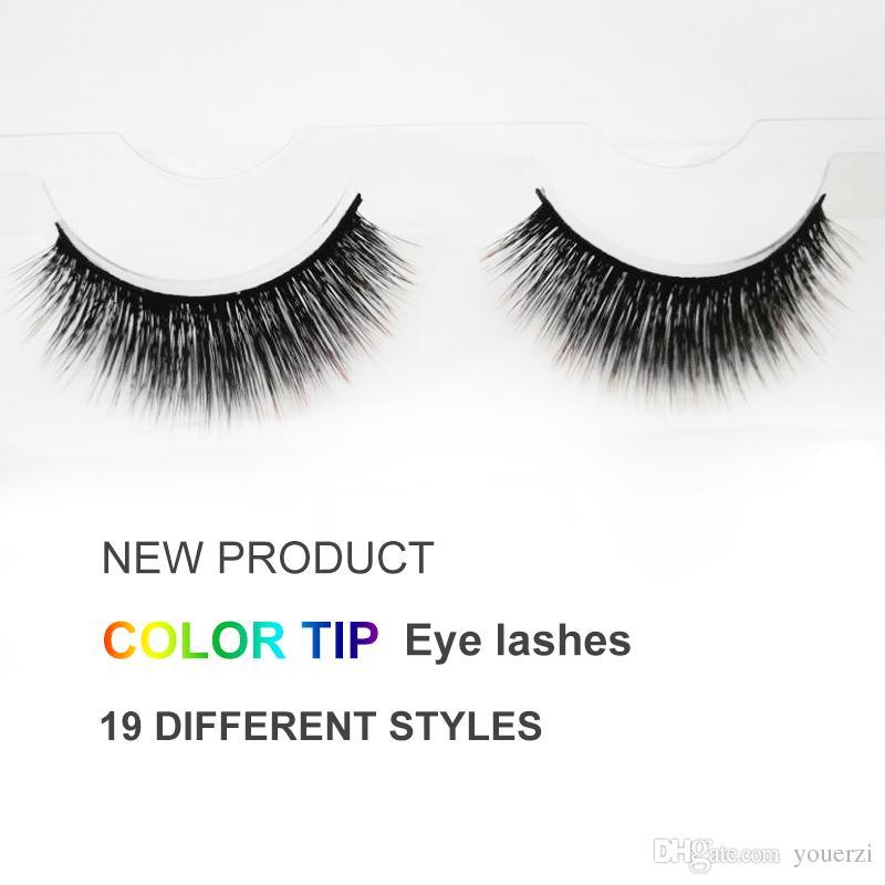 Eye Lashes High End Makeup Natural 3D Thick Eyelash Strip Tip Eyelashes Style Extension Eyelash Fake Eyelashes 3d Lashes Online with $0.98/Piece on ...