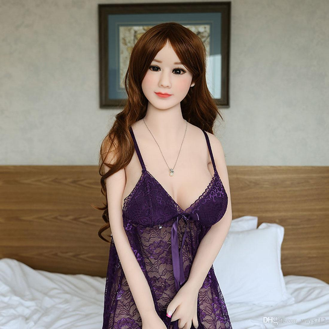 165cm Full Size Flesh TPE Lifelike Big Boobs Love Dolls Realistic Sex Doll For Man Masturbation With Large Breast