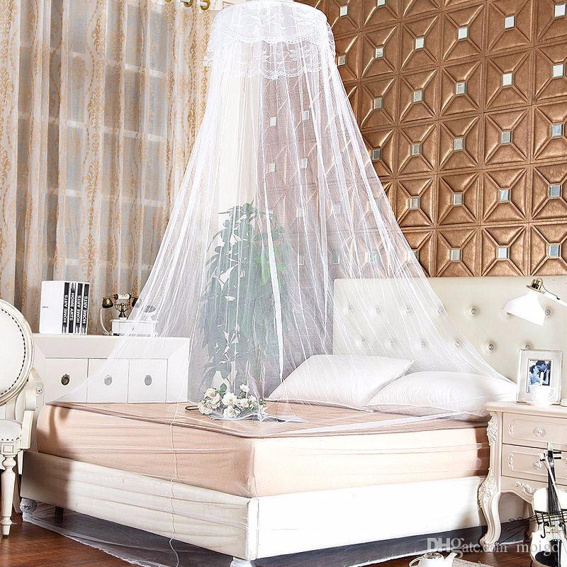 Lieblich Großhandel Elegante Spitze Bett Moskitonetz Mesh Baldachin Prinzessin Runde  Dome Bettwäsche Net Wjj Von Moigo, $3.51 Auf De.Dhgate.Com | Dhgate