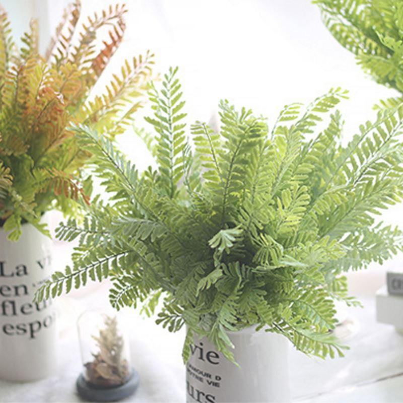 2018 silk flowers plastic artificial pteris plants grass leaves fake 2018 silk flowers plastic artificial pteris plants grass leaves fake phoenix tail suculentas artificiais fernhome garden wedding part from dfashion mightylinksfo