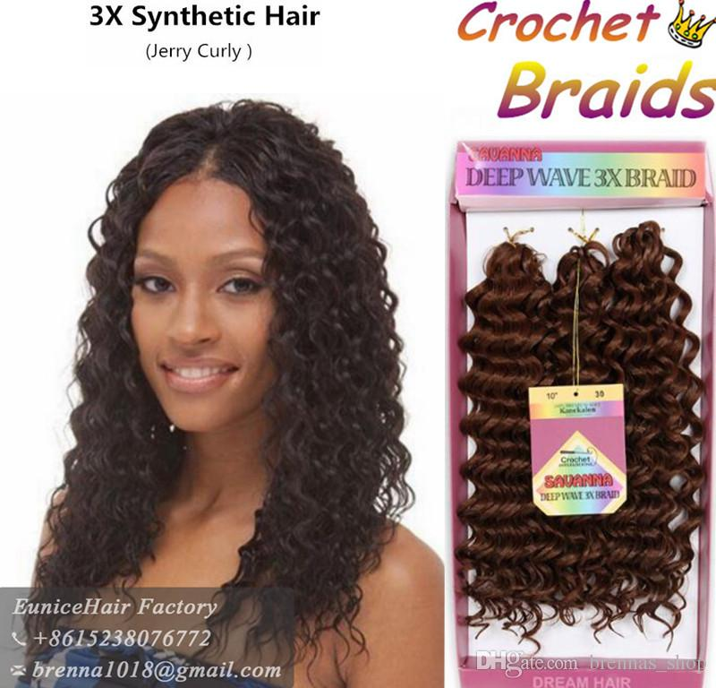 2018 Ombre Burgundy Bug Color Jerry Curly Synthetic Braiding Red ...