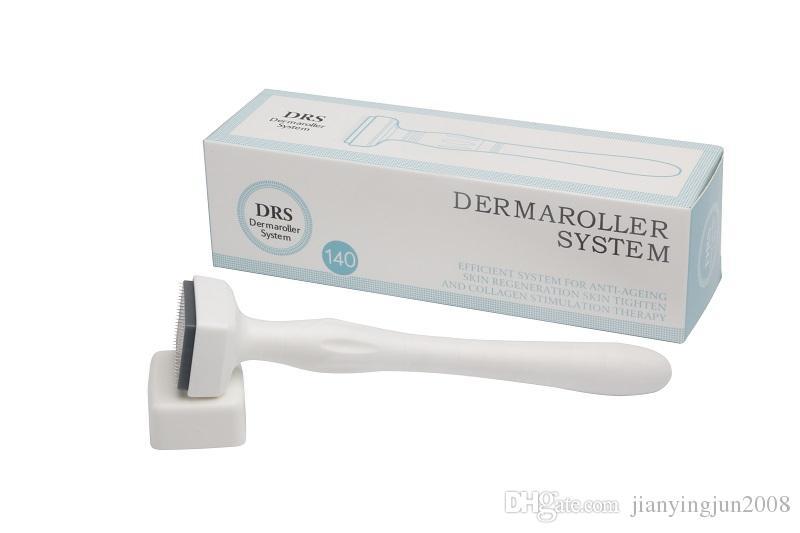 2017 derma roller DRS 140 para cuidados com a pele derma rolo titânio meso rolo Médico CE Aprovado
