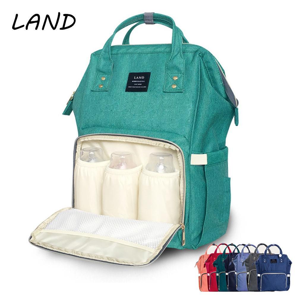 39ae83f3f2d1a Wholesale- Fashion Mummy Maternity Nappy Bag Brand Large Capacity Baby Bag  Travel Backpack Desinger Nursing Bag for Baby Care Mochila Mamae .com Online  ...