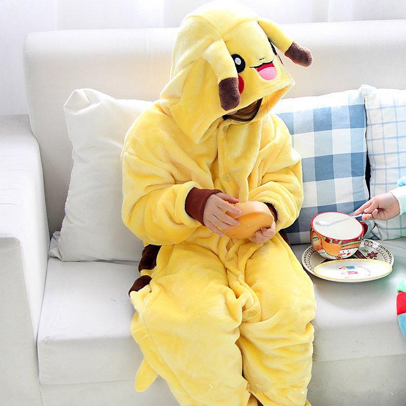2018 Chaude Anime Unisexe Adulte Rilakkuma Ours Point Onesies Enfants Hoodies Pyjamas Cosplay Costume Pour Noël Carnaval Masquerade Partie