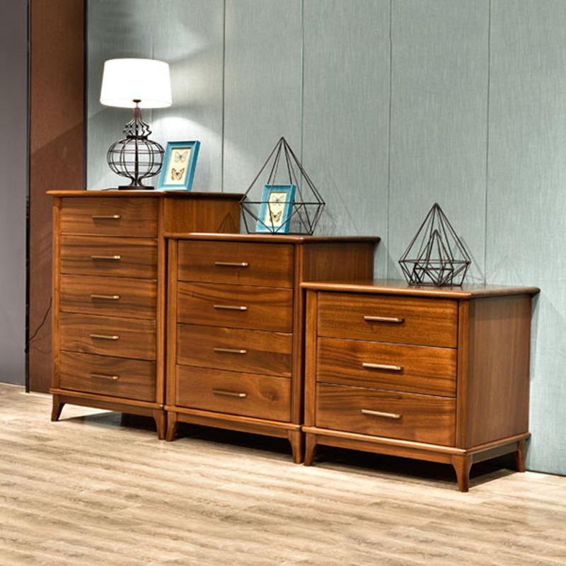 2019 European Storage Cabinet All Solid Wood Chest Of Drawers Walnut Color  Cabinets Bedroom Furniture Custom Made From Lyfurniture, $748.75   ...