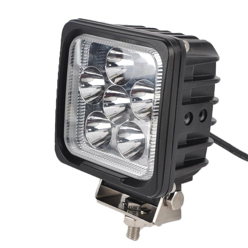 """DHL 5"""" 30W CREE Chips LED Driving Work Light Square 6LED*5W Offroad SUV ATV 4WD 4x4 Spot Pencil / Flood Spread Beam 3000LM Super Bright"""