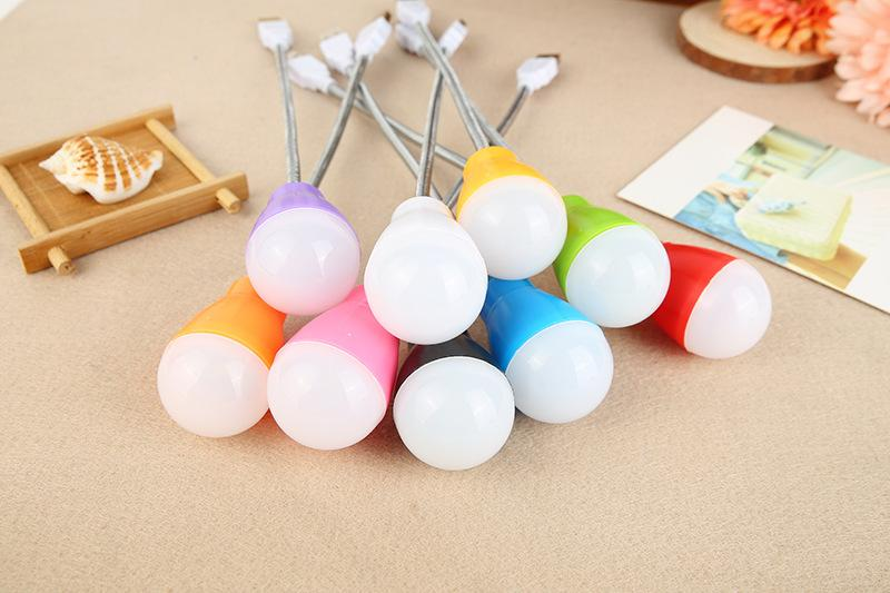 Creative USB travel long small desk lamp emergency new LED bulb ball charging treasure special emergency ball bulbs wholesale