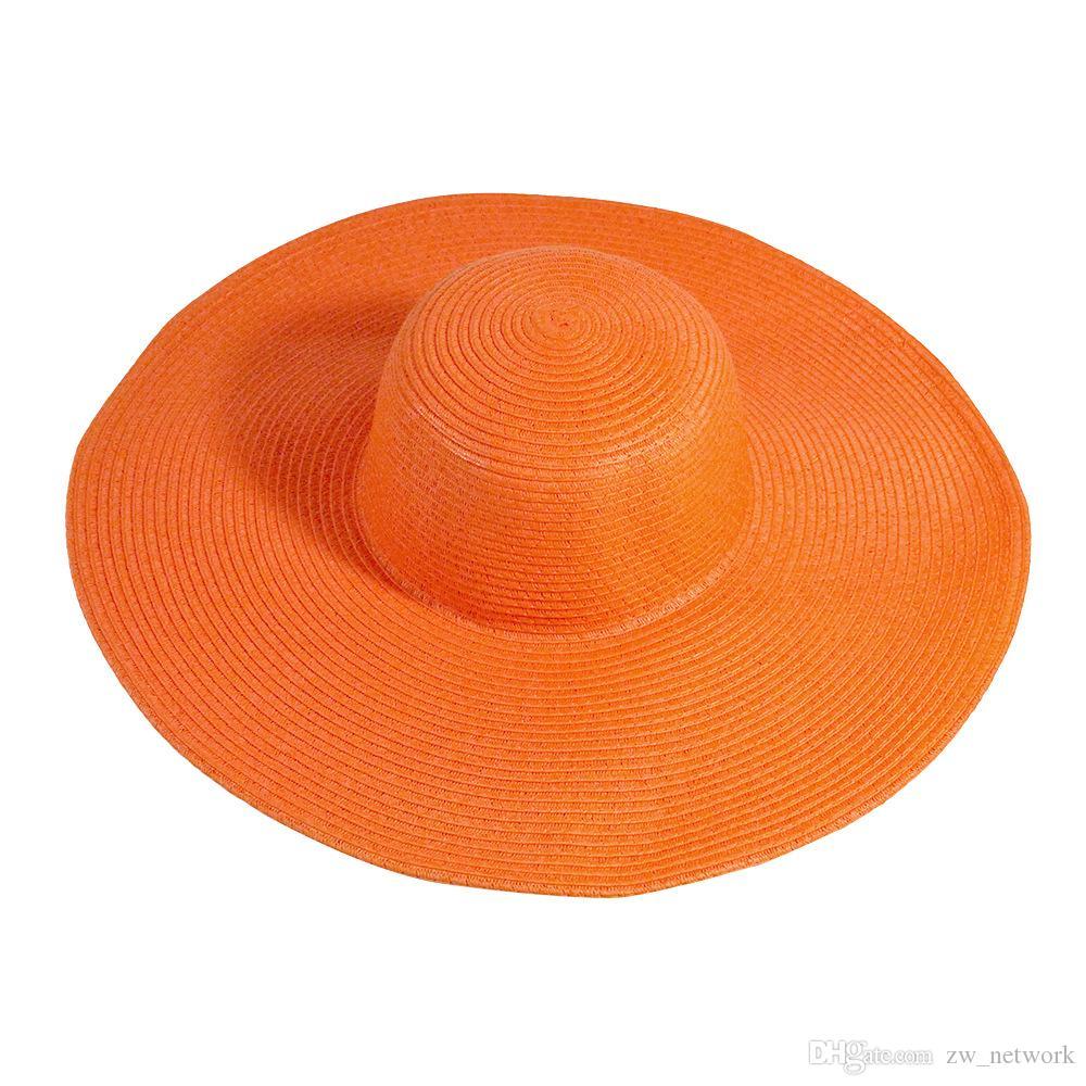 2018-Sommer-Frauen beatch Strohhut Sonnenhut Damen Wide Brim Strohhut im Freien faltbare Strand Panama-Hüte Kirche Hut zu wählen