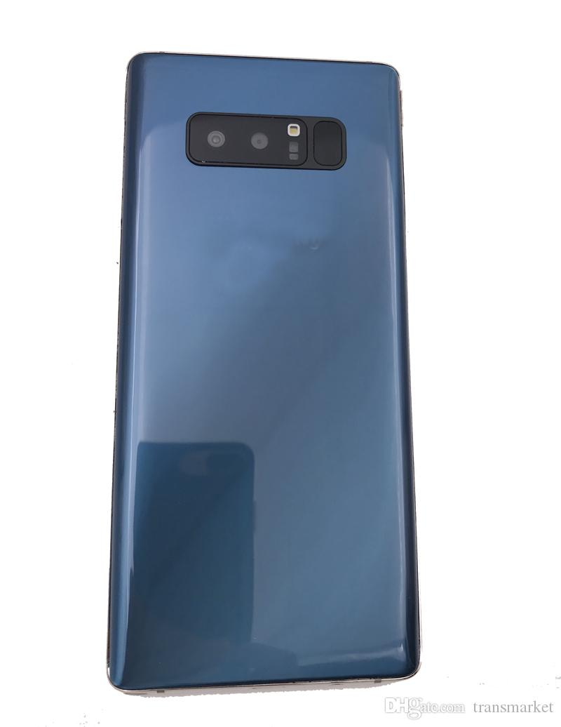 Note8 16GB ROm 1GBram Quad Core Note 8 teléfono Mtk6580 Dual Sim card Tamaño grande Venta caliente Phone 6.2INch azul Black Gold iIN stock 8MP Camera phon