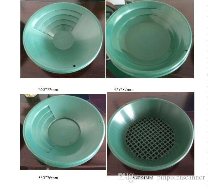 Pinpoint Factory Plastic Gold Washing Pan For Sand Gold Mining Manual Wash,  Wash Gold Panning Equipment