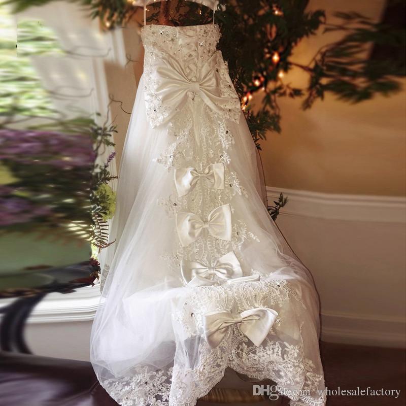 Glitz 작은 소녀 꽃 소녀 드레스 민소매 민소매 민소매 민소임 큰 활 레이스 다시 공주 대회 드레스