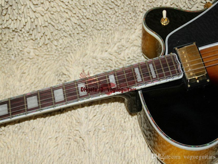 Custom Shop Classic Sunburst L-5 Very Beauty Jazz 기타 높은 품질 무료 배송