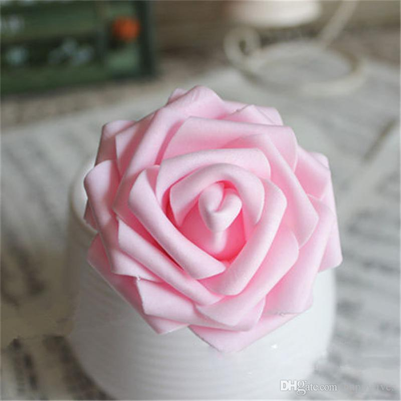 Flower Fake Rose Bouquet Flower Soap Gift Box Valentine Day Present ...