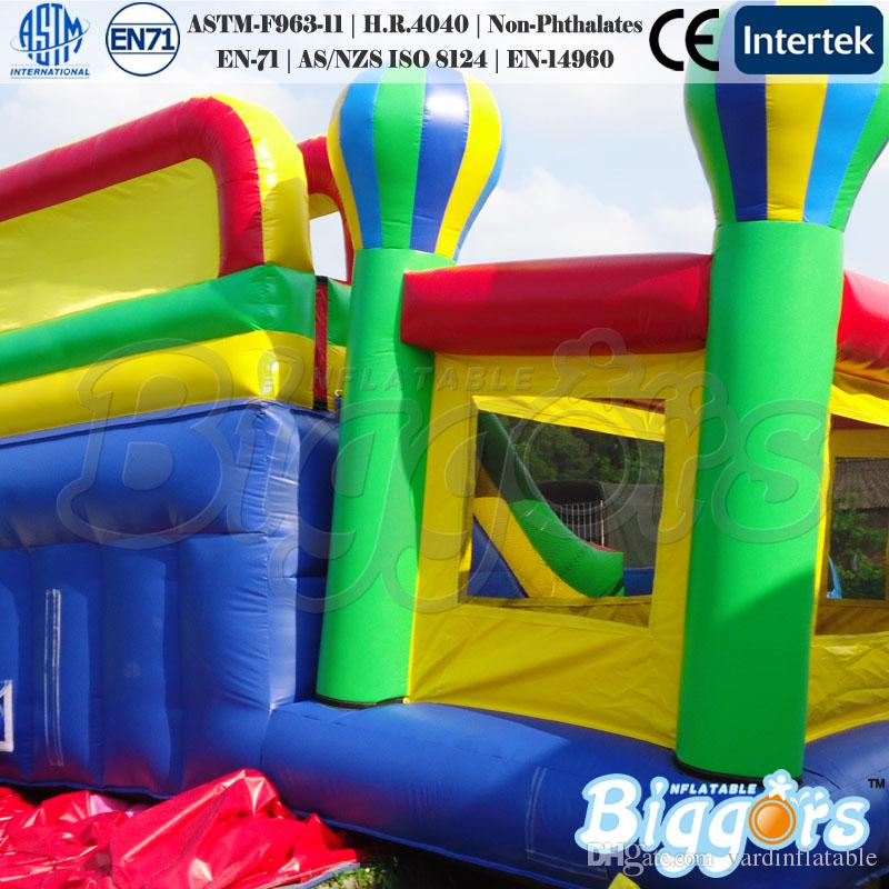 Factory Direct Sale En71 And En14960 Certificated Commercial Use Bounce House Inflatable Bouncy Castle Slide Combo