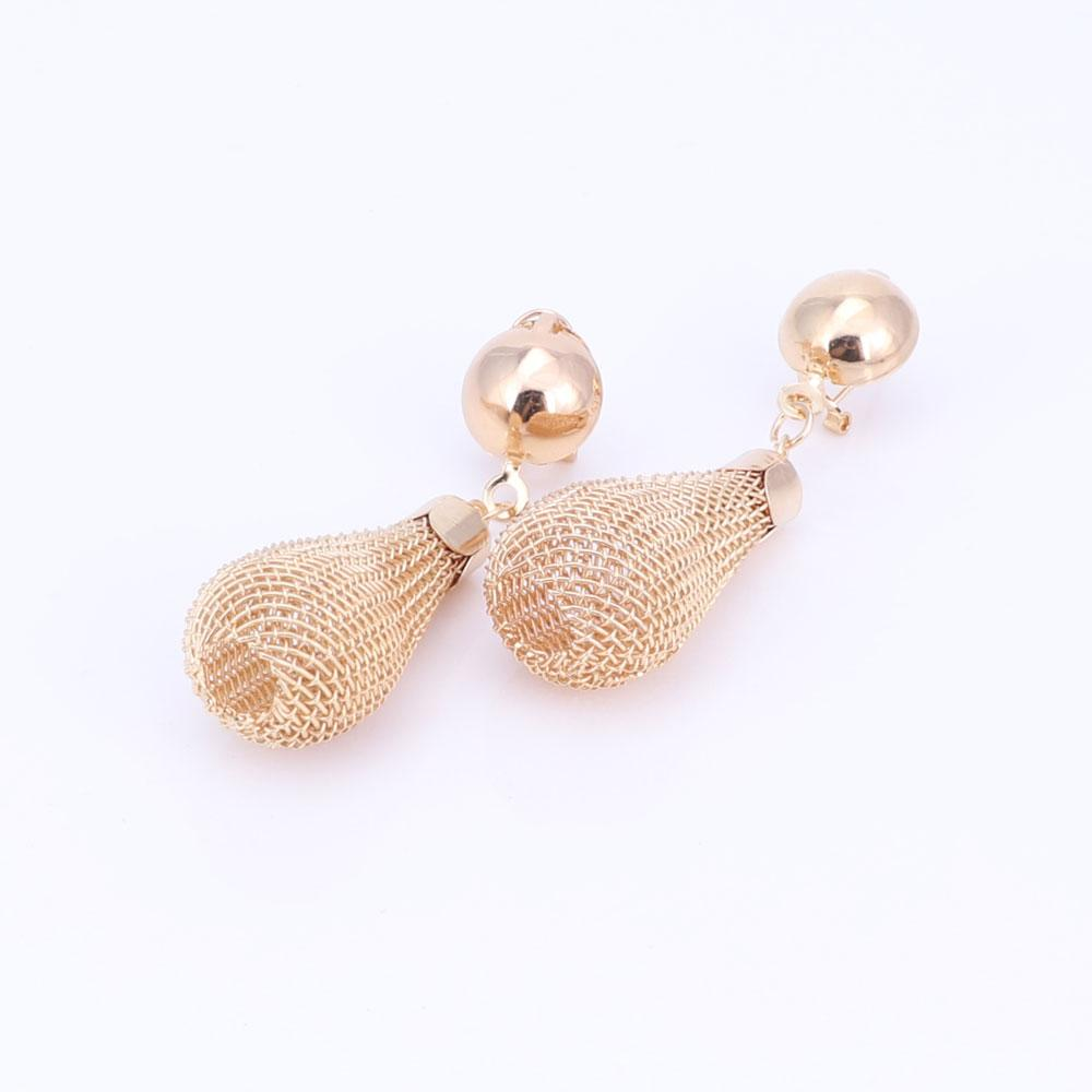 Gold Color Jewelry Sets For Women African Pendant Necklace Earrings Bracelet Ring Party Dress Accessories