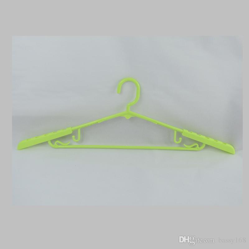 Strentch Islak Kuru Çift kaymaz Widproof Yetişkinler için Plastik Askılar Ayarlanabilir Çok fonksiyonlu Raflar Lady Adam elbise ceket etek