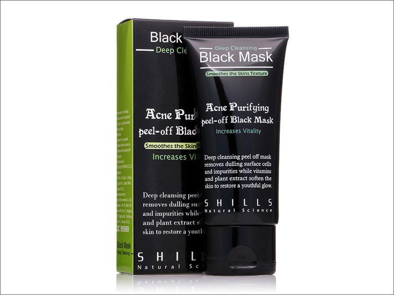 2016 Shills Reinigen von Peel-off Maske Shills Tiefreinigung Schwarz Shills Mask Pore Cleaner 50ml Mitesser Gesichtsmaske