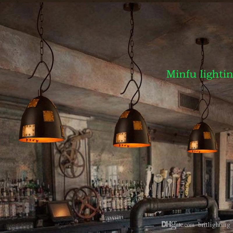 Led Industrial Pendant Lights Vintage Lamp Edison Retro Hanging Lampshade Restaurant Bar Coffee Shop Luminarias Lamps Low Voltage