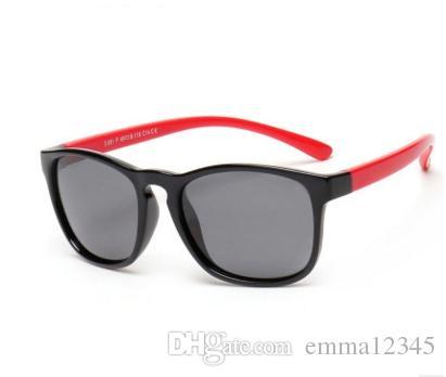 4917a55650e2 TAC Fashion Kids Square Polarized Sunglasses Children Vintage Sun ...