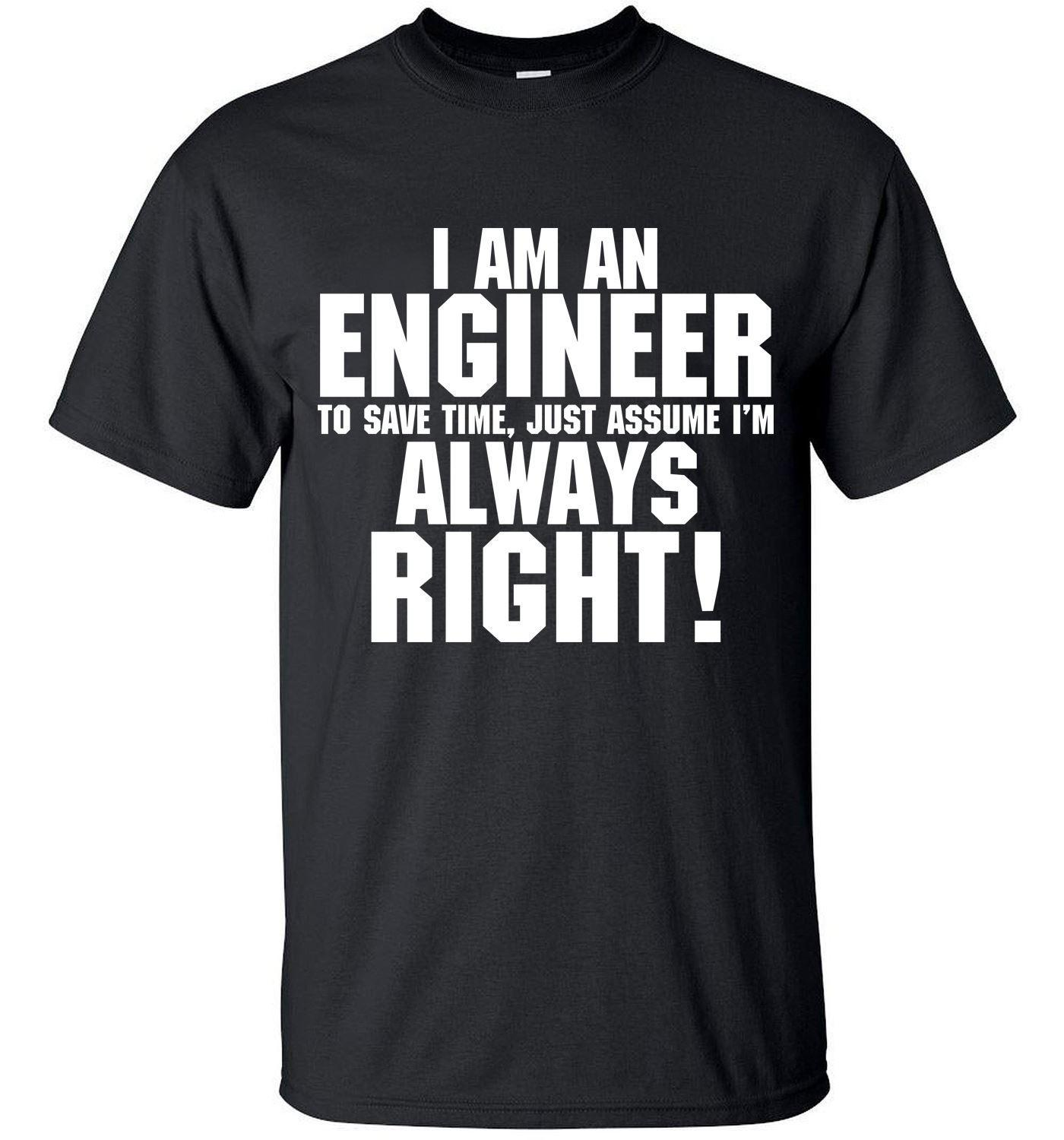 2019 Camping T Shirts Men S T Shirts Funny Trust Me I Am An Engineer