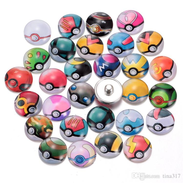 New High Quality 18MM Metal Snap Button Rhinestones Mixed Styles DIY Snaps Charms Jewelry accessories buttons CA175