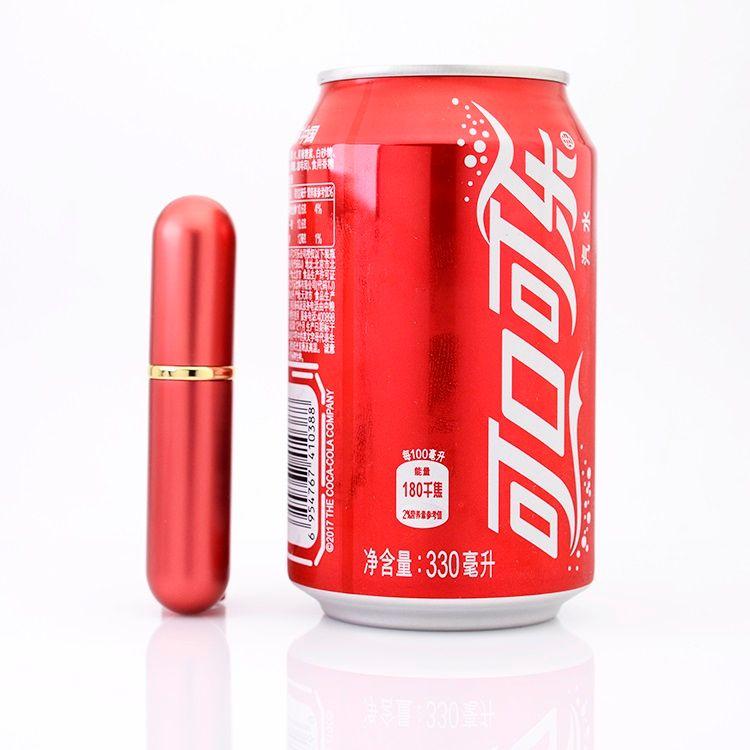5 мл-6 мл алюминиевая стеклянная бутылка подарок флаконы для духов высокое качество многоразового использования 5-6 мл мини-металлическая оболочка аромат флакон духов распылитель