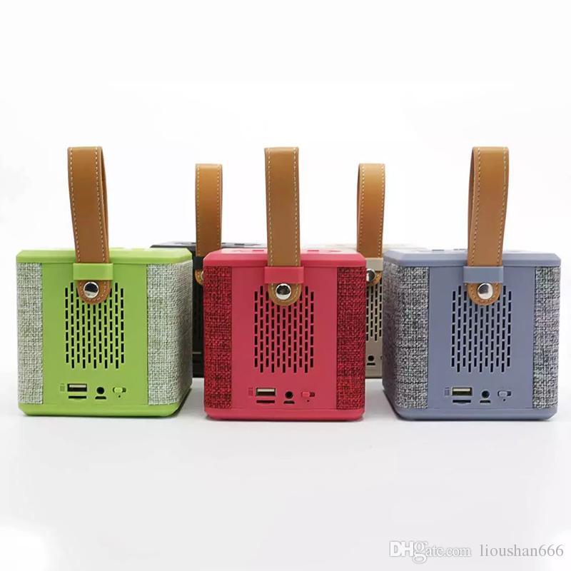 High-end Bluetooth Speaker 5W Power 3 Inch Horn Diaphragm Illumination Portable Wireless Speaker Subwoofer Loudspeakers