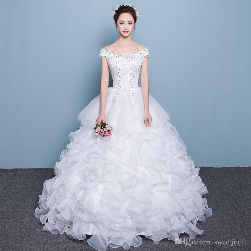 Factory Direct, Cheap 2017 New Fashion Korean Wedding Dress, Bridal ...