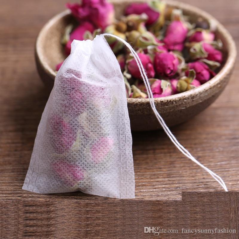 Boş teabags gıda sınıfı malzeme yapımı filtre tek İpli çay poşetleri, tek çay demlik, toptan ucuz fiyat 6 * 8 cm 9 * 10 cm 5.5 * 7 cm