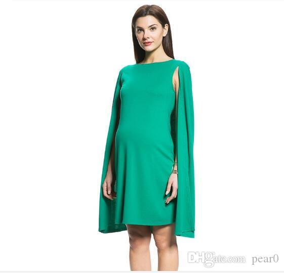 2018 2017 Women\'S Clothing Beautiful Summer Maternity Dress Green ...