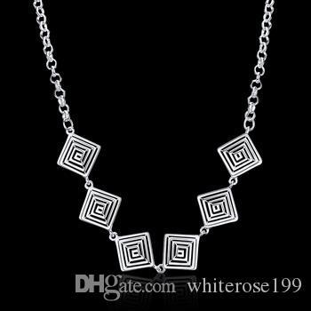 Filo collana gioielli grossisti in argento 925 moda Necklacey N908