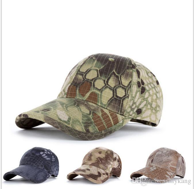 e0d5051503a67 2019 Tactical Caps Hats Baseball Hat Camouflage Adjustable Special Forces  Cap For Men Women Sun Hat Outdoors Wargames Cap Hiking Fishing Hat From  Lilykang