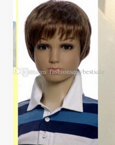 Livraison gratuite 5 couleurs perruques de coiffure, modèles de perruques pour enfants vêtements accessoires perruque chauve fille, livraison gratuite, M00432