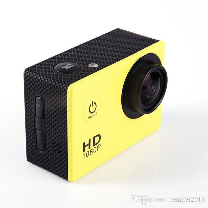 Sport DV 2.0 Inch LCD Screen 1080P 12MP Full HD Action Camera 30M Waterproof Camcorders Helmet Extreme Sport DV Car DVR