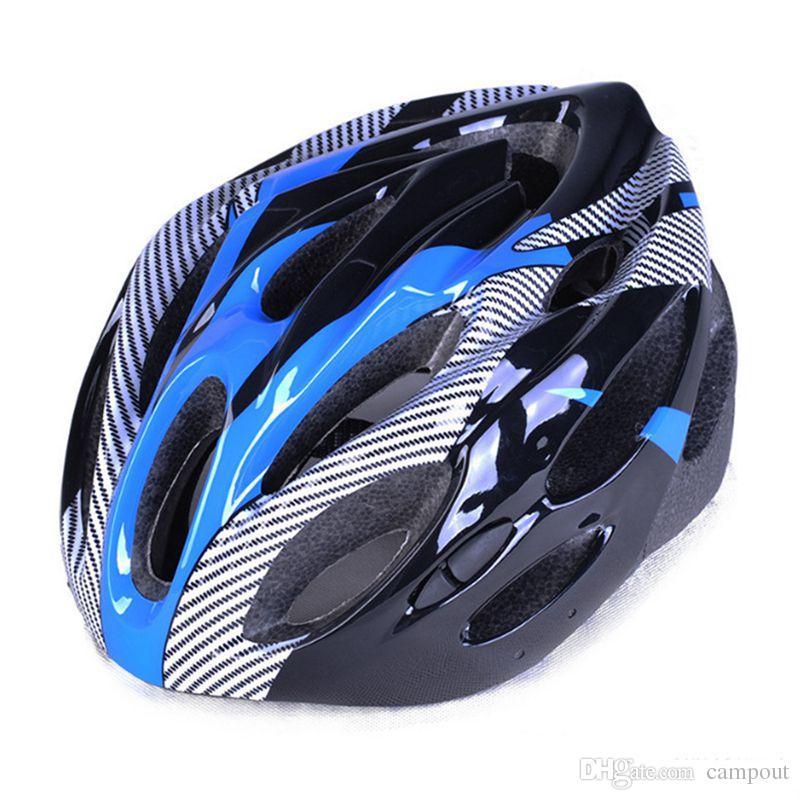 Cooler Design Fahrradhelm Schutzhelm Freie Größe Mtb Fahrrad Sturzhelm Straßen Sturzhelm Qualitäts Fahrrad Zerteilt 4 Farben 180g