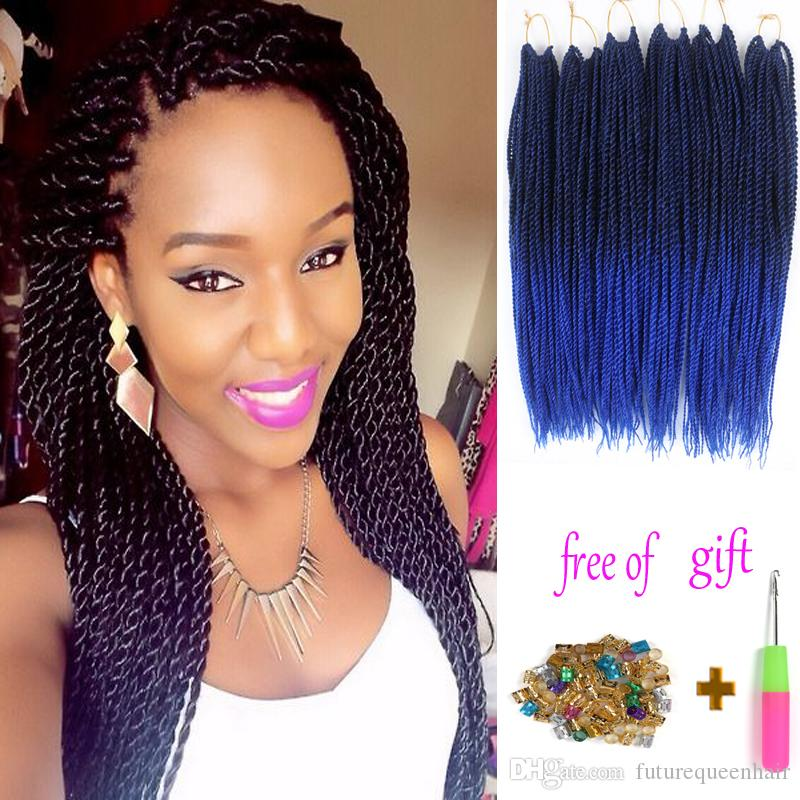 2019 18 Medium Size Senegalese Twist Braiding Hair Synthetic Hair