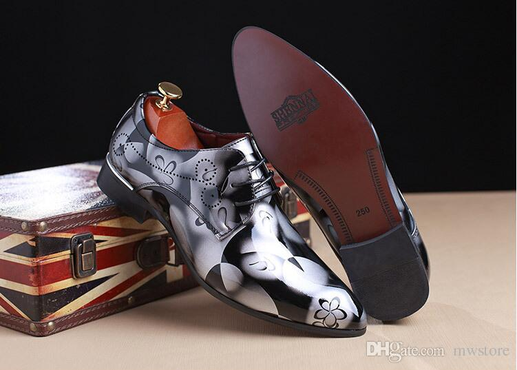 New men's business dress shoes wedding shoes Men's daily work men's shoes In Stock