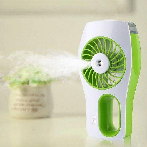 Summer Water Spray Air Freshener Mini Beauty Replenishment USB Fan Portable Battery Operated Handy Fan Cooling Mist Humidifier