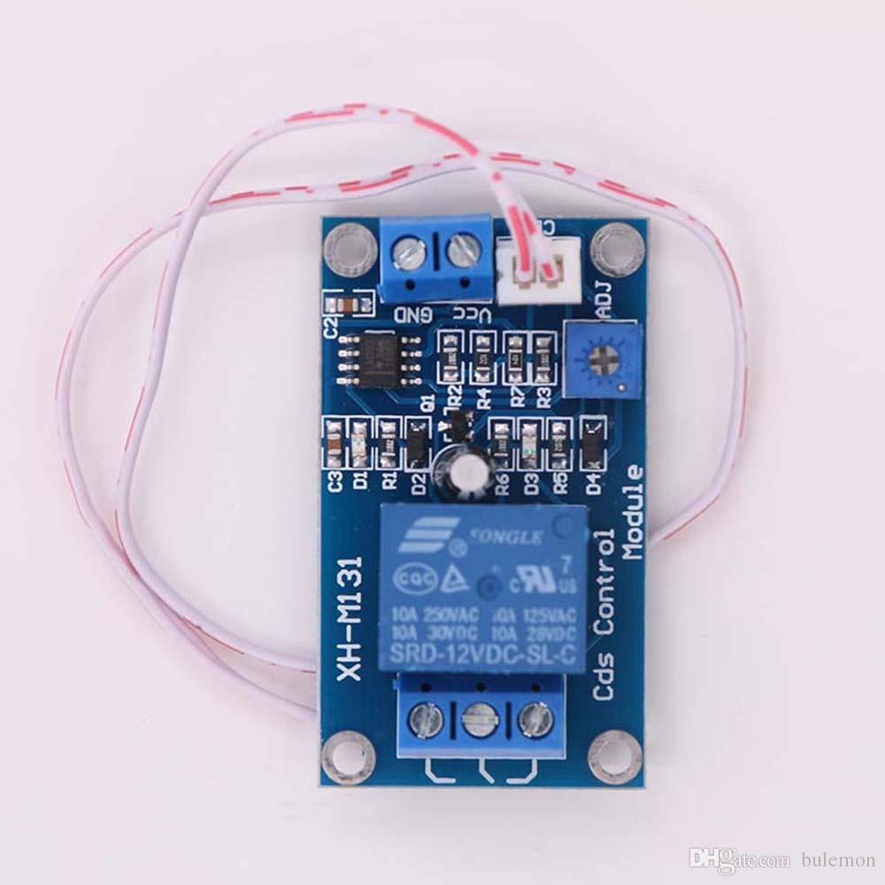 2018 Dc 12v Photosensitive Resistance Relay Control Module Light The And To Another Circuit Switch Photo Induction From Bulemon 654