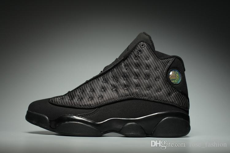 Billig 13 Atmosphäre grau gezüchtet Playoff Kirsche Chicago Basketballschuhe 13s Kappe und Kleid Leichtathletik Menwomen Sneakers Schuhe mit Box