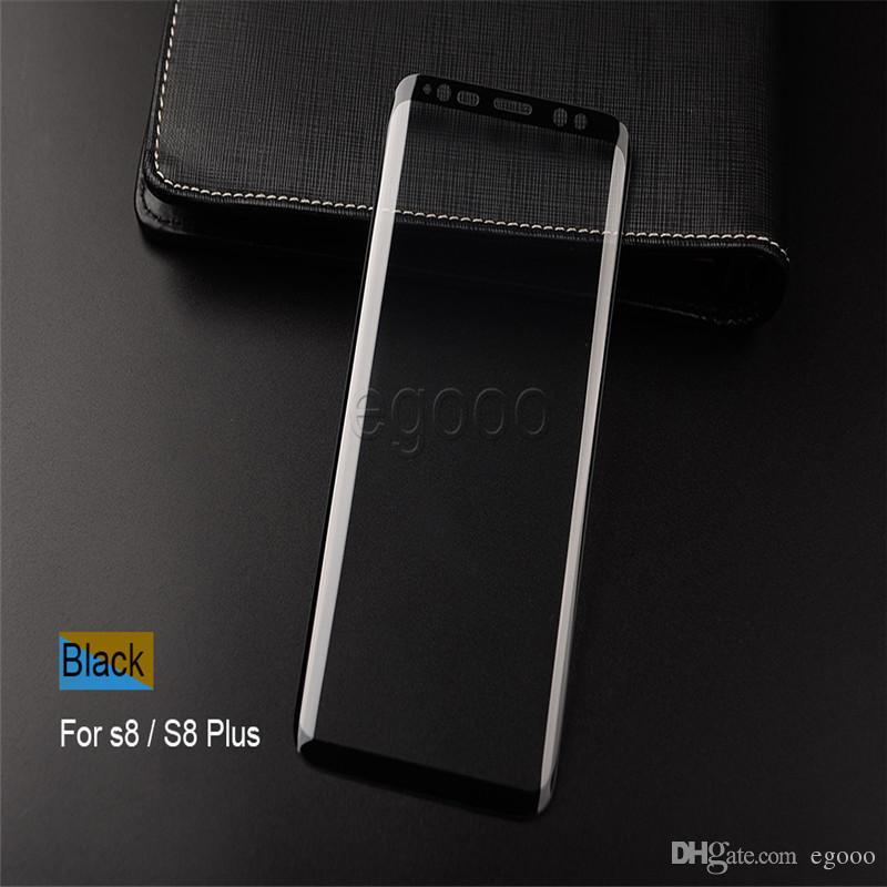 Para tela S20 Ultra S10e S10 Além disso vidro temperado Caso amigável Protector 3D para Samsung Galaxy S7 borda S8 S9 Plus Nota 20 Ultra 10 9 8