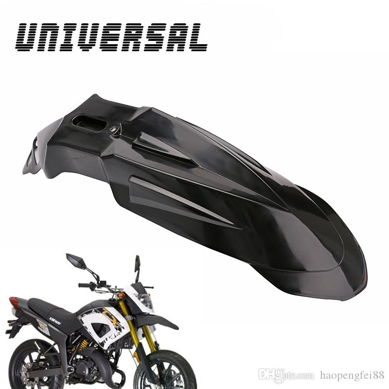 Superieur 2018 Hot Black Universal Motocross Super Moto Front Fender  Mudguard For Cruiser Bike Motorcycles From