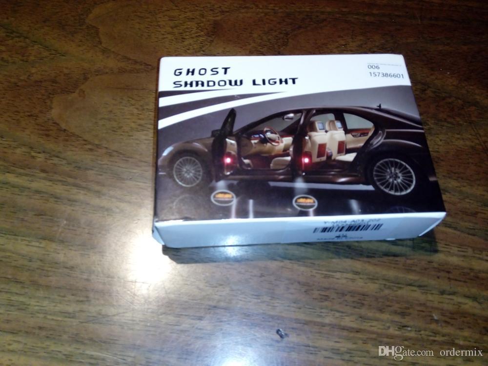 Led Araba Kapı Logo Projektör Honda Için LED Araba Kapı Hoşgeldiniz Işık Araba Logosu ışık Gölge Işık
