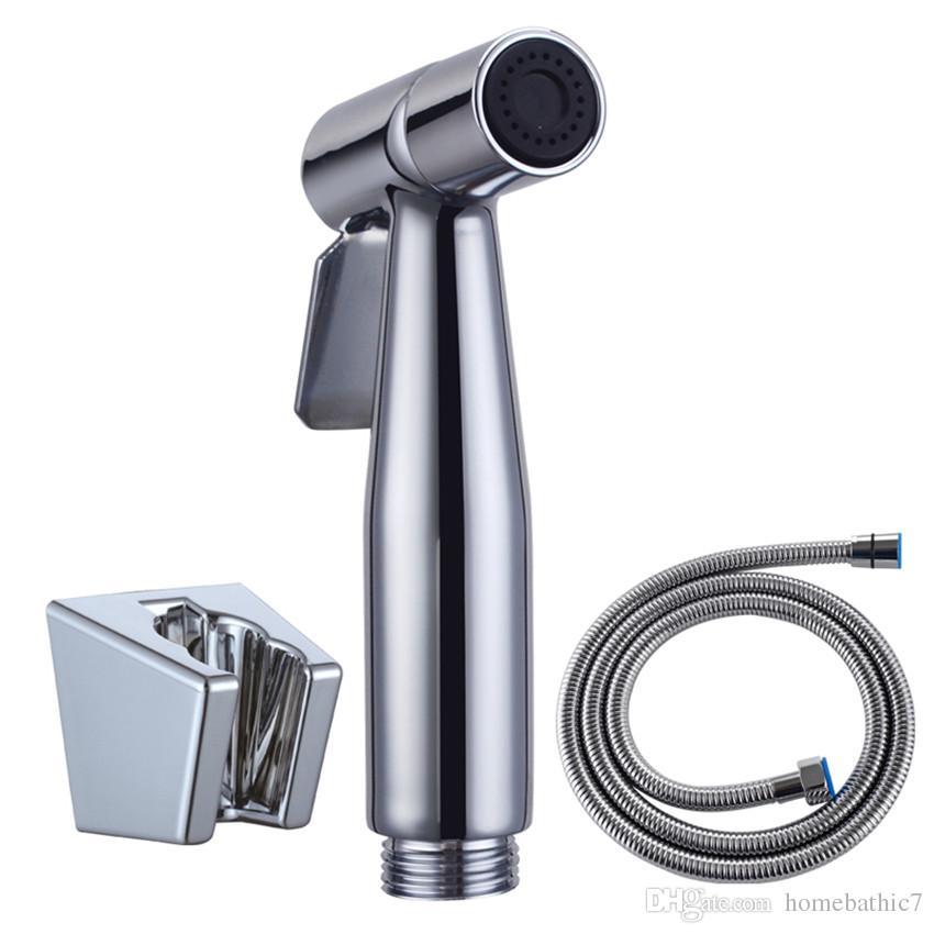 2019 Modern Set Stainless Steel Hand Held Wc Toilet Bidet Shower