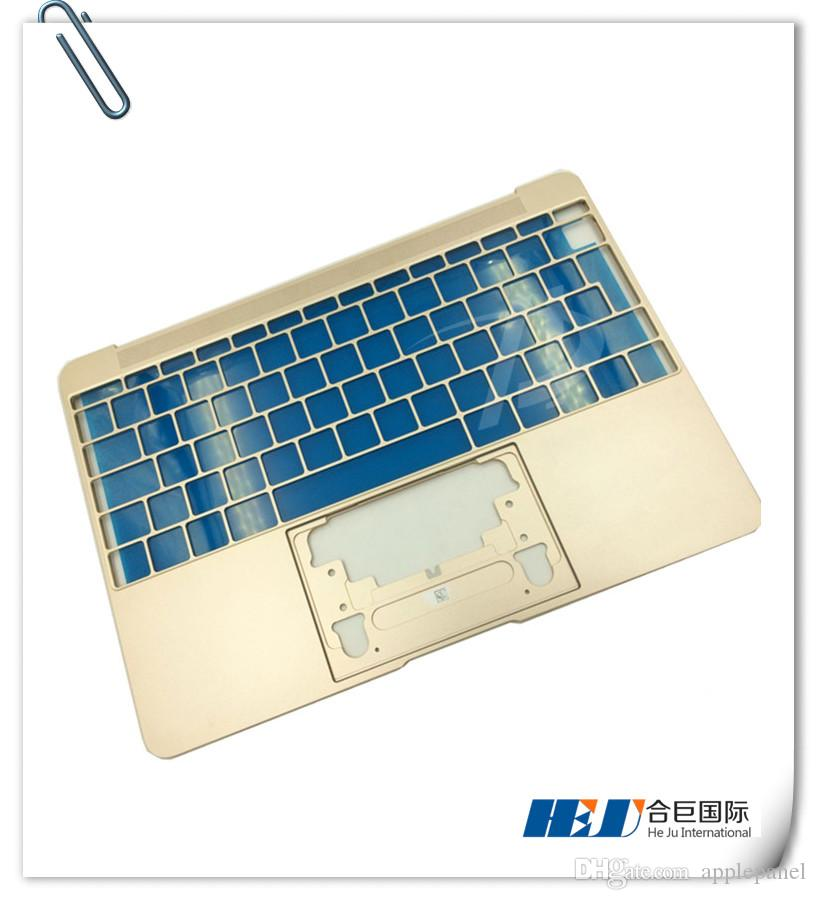 Original 100% New 2016 year Gold color shell cover for Macbook retina 12 inch A1534 Topcase UK version MOQ: