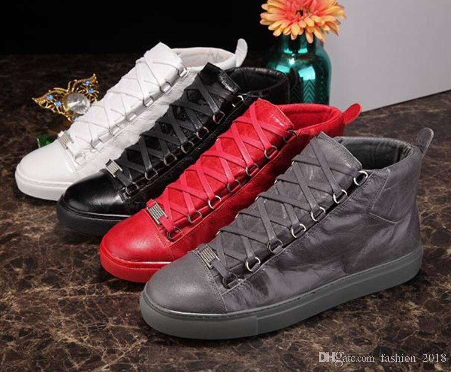 les les les hommes célèbre designer brand en cuir chaussures bottes haut haut de la page 8dabb8