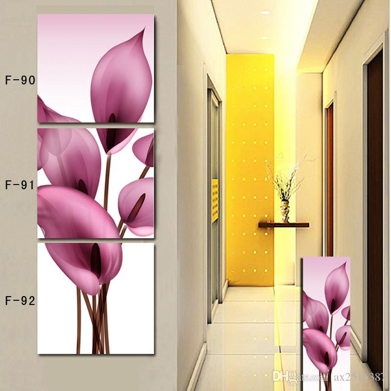 2018 Yellow Flowers Modern Home Wall Decor Painting Canvas Art Hd ...