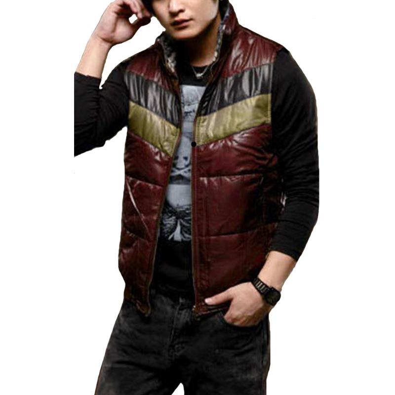 34f23076f82d2 Wholesale- New Arrival Brand Men Both Sides to Wear Vest Winter ...