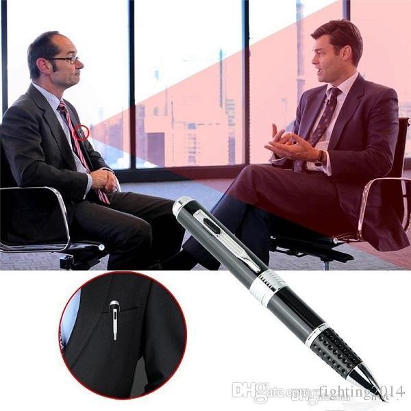 1080P Kugelschreiber DVR Audio Video Recorder Gadget Mini Stift Kamera mit TF-Kartensteckplatz