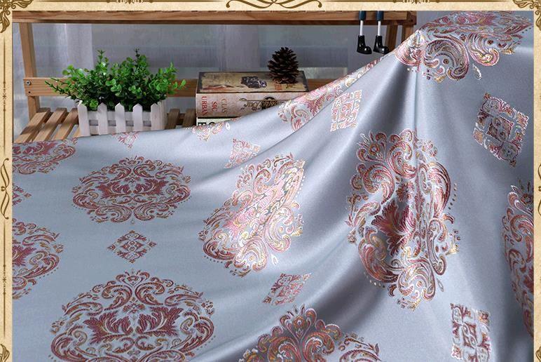 Европа тип полиэстер высокого класса расстояние Жаккардовая ткань подушка ткань диван занавес ткань стул ткань многоцветная опционально